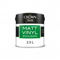 Paint/Farbe Crown MATT EMULSION  NEUTRAL 2.5L