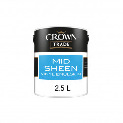 Paint/Farbe Crown MID SHEEN EMULSION NEUTRAL 2.5L